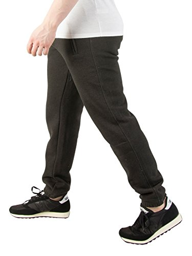 Superdry Uomo Jogger Urban Slim Fit Orange Label, Nero Nero