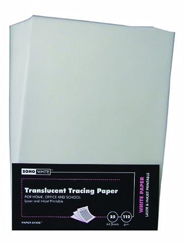 Paper State Soho Transparentpapier, A4, 112g/m²,