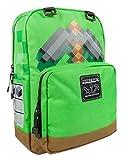 Minecraft Diamond Pickaxe Grey Kids/Boys Backpack School Bag