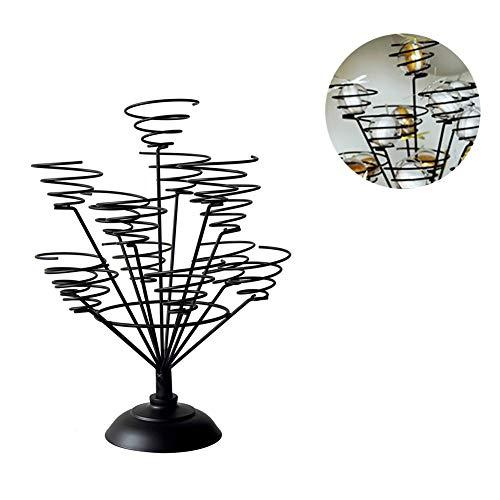 d, süß macht es Draht Spiral Design, für 13 Cupcakes, 31 X 40 Cm X Single Durchmesser 8CM Dessert Bouquet Display Rack,Black ()