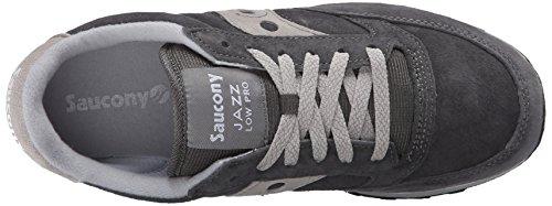 Saucony Jazz Low Pro, Chaussures de Gymnastique Homme Gris
