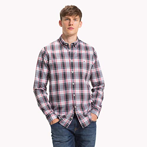 Tommy Jeans Western Denim Shirt Msmb Camicia Uomo