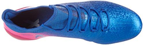 Adidas X 16.1 Fg, Chaussures de Football homme Bleu (Blu Azul/ftwbla/rosimp)