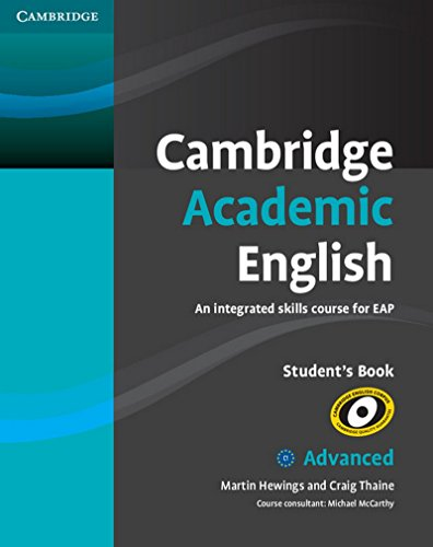 Cambridge Academic English C1 Advanced Students Book