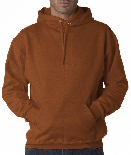 Wei§er Fu§ball auf American Apparel Fine Jersey Shirt Texas Orange