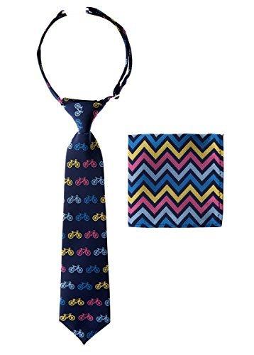 Canacana - Corbata - para niño Azul azul marino 8 - 10 Año