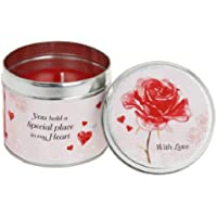 Rosa Candela Tin-Vintage Lane by Jennifer