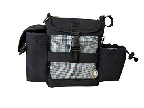 Inogen One G4 & Oxygo Fit Hüfttasche/Bauchtasche/Inogen One G4 Hip Pack/passt sowohl Standard- als auch Doppelbatterien -
