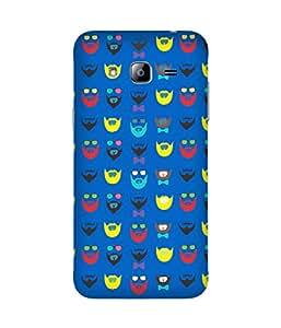 Beard-Colour-25 Samsung Galaxy J3 Case