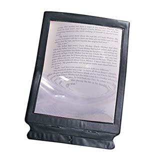 Large Full Sheet Magnifier Magnifying Reading Vision Aid Glass