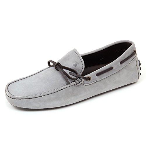 D0026 mocassino uomo TOD'S scarpa grigio/marrone scuro loafer shoe man grigio/marrone scuro