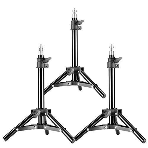 Neewer 3er Set Mini-Aluminium-Fotografie Lichtstative mit 32