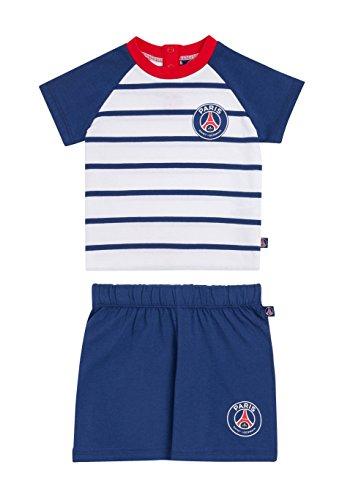 d42690be43c2db PARIS SAINT GERMAIN Ensemble bébé PSG T-Shirt + Short - Collection  Officielle 12 Mois