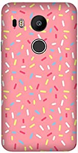 Candy Printed Back Cover Case For LG Google Nexus 5X