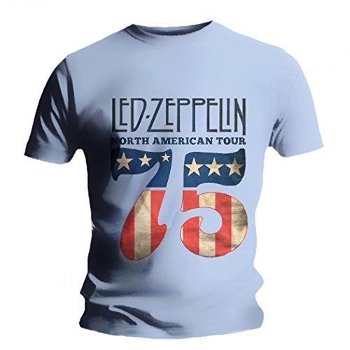 Led Zeppelin - T-Shirt - US 75 (Zeppelin Led T-shirt)