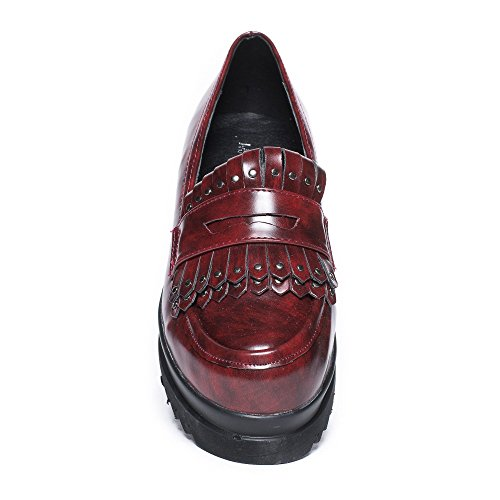 Ideal Shoes, Mocassini donna Rosso