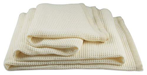 Zenoni & colombi - coperta abeille in cashmere e lana merinos extra fine (piazza e mezza)