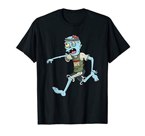 Läufer Kostüm Halloween Karneval Running Lauf T-Shirt