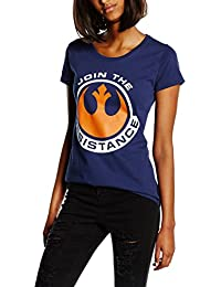 Plastichead Damen T-Shirt Star Wars The Force Awakens Join The Res