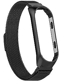 Westeng Correa de Reloj de Pulsera para Xiaomi MI Band 3 Correa de Reloj de Ajustable