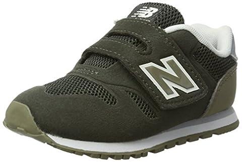 New Balance 373 Velcro, Formateurs Mixte Enfant, Vert (Army Olive/Green),