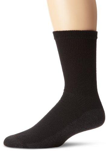 Hanes Men's Cushion Crew Socks 6-Pack 10-13 - (Socks Sole Cushion)