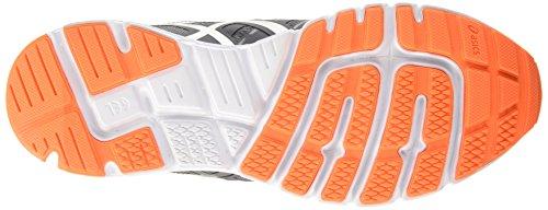 Asics Gel-Zaraca 4, Chaussures de Running Compétition Homme Noir (carbon/silver/hot orange 9793)