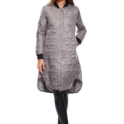 Damen Mantel Revers Lonshell Parka Strickjacke Mit Jacke Tasche Outerwear Blusenmantel Winterjacke (M, Schwarz) (Cashmere Kleid Blend)