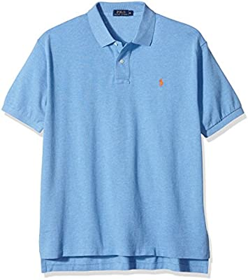 Ralph Lauren SS Solid CLSC MESH W/P - Polo para hombre