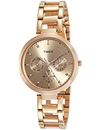 Timex Analog Brown Dial Women's Watch-TW000X209