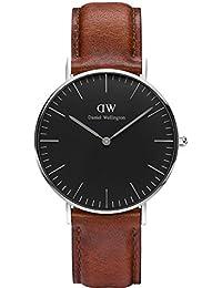 Daniel Wellington Classic Damen-Armbanduhr Analog Quarz Leder - DW00100145