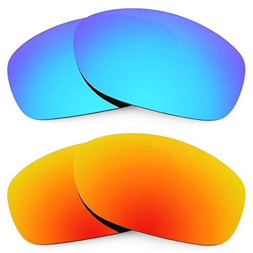 Preisvergleich Produktbild Revant Ersatzlinsen für Oakley Pit Bull Polarisiert 2 Paar Kombipack K002