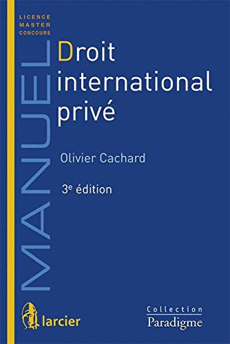 Droit international privé : Licence, master par Paradigme