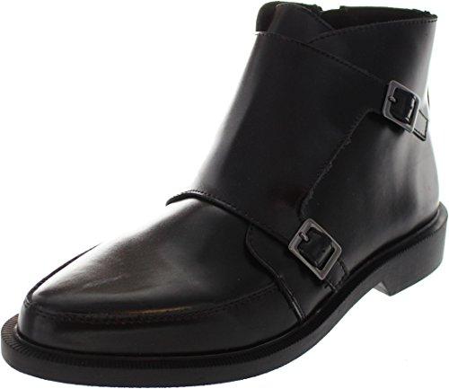 T.U.K. A9118, Stivali uomo nero Black, nero (Black), 44