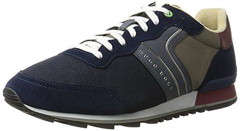 BOSS Green Herren Parkour_Runn_nymx 10191435 01 Sneaker, Blau (Dark Blue), 43 EU