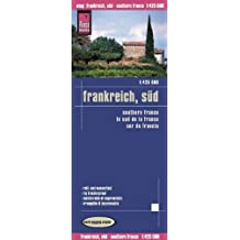 Reise Know-How Landkarte Frankreich, Süd (1:425.000): world mapping project