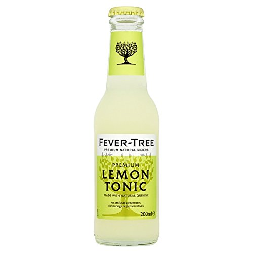 ( 24 Pack ) Fever-Tree Premium Lemon Tonic 200ml