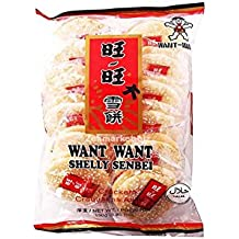 Want Want - Galletas De Arroz Bolsa De 12 Paquetes Individuales Rice Crackers 150G