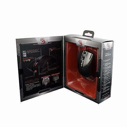 A4Tech A4-V3A mouse USB Ottico 3200 DPI Nero