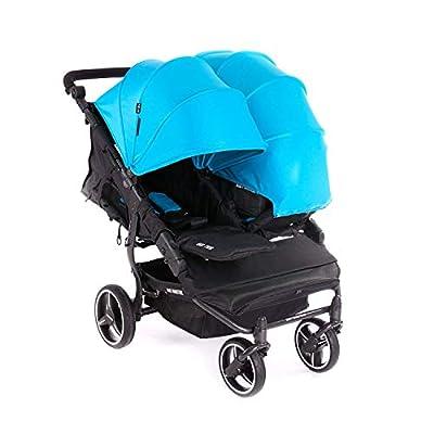 (Varios colores) Baby Monsters Silla Gemelar Easy Twin 3.S Light Edicion 2019 con nuevo chasis mas ligero-danielstore