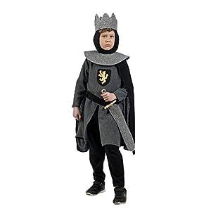Limit Sport - Disfraz natural de caballero medieval, para niño, color gris (MI922)