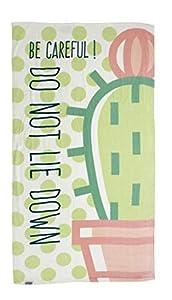 ARDITEX ZK50075 Cactus - Toalla de Cuna, 300 g/m², 90 x 170, Multicolor