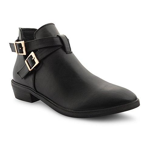 Footwear Sensation ,  Damen Ankleboots Black Low Heel