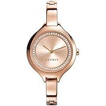 Esprit Damen-Armbanduhr Woman Stacy Rose Gold Analog Quarz ES108322003