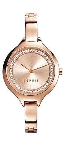 Esprit Damen-Armbanduhr Woman Stacy Rose Gold Analog Quarz ES108322003 (Esprit Schmuck Outlet)