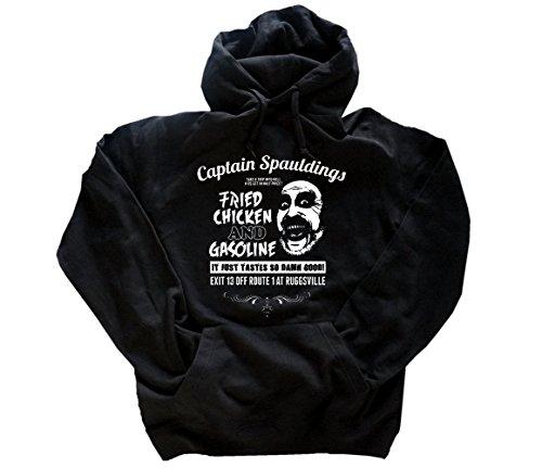 MOVIE TOPTEN 09 Captain Spauldings Fried Chicken and Gasoline Kapuzen-Sweatshirt - hoody Schwarz L