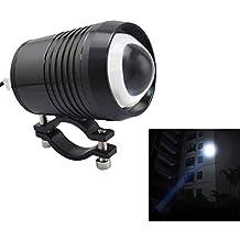 lonove U2Cree foco trabajo conducción antiniebla LED para faros delanteros (1200lm 12V-60V motocicleta coche ATV Camión Jeep Barco impermeable negro pintado