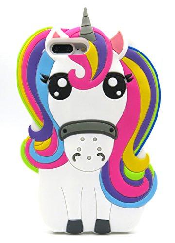 Fundas Iphone 7 Plus Silicona Unicornio