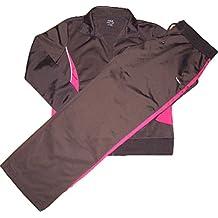 Reebok CB Knit Suit Traje Women k25706marrón de color rosa Chándal tamaño XL/Alemania 42/uk 16