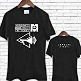 New Depeche Mode Stripped English Electronic Band Men's T-Shirt Summer Fashion Slim Fit Short Sleeve Tee O-Neck Casual Black Tops S-3XL
